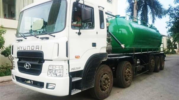 Vận chuyển nước thải TP Vũng Tàu