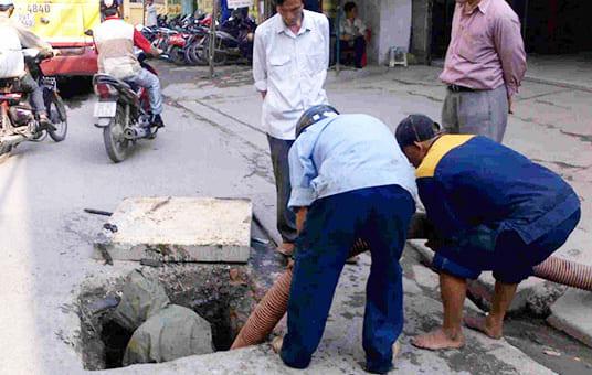 Thông cống nghẹt huyện Tân Thành giá tốt